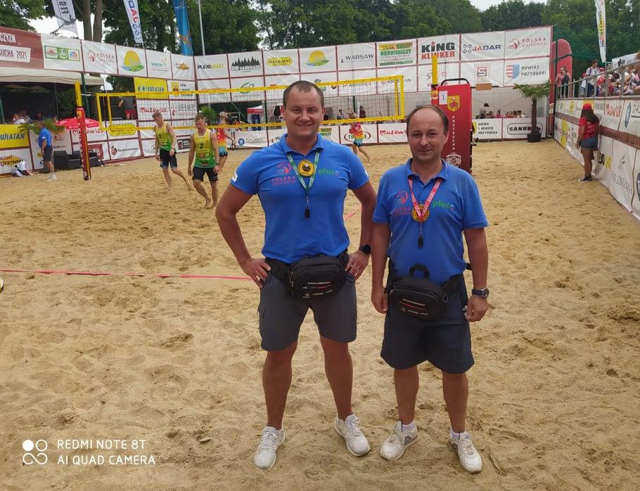 Częstochowscy sędziowie siatkówki plażowej promują Częstochowę w całej Polsce 2