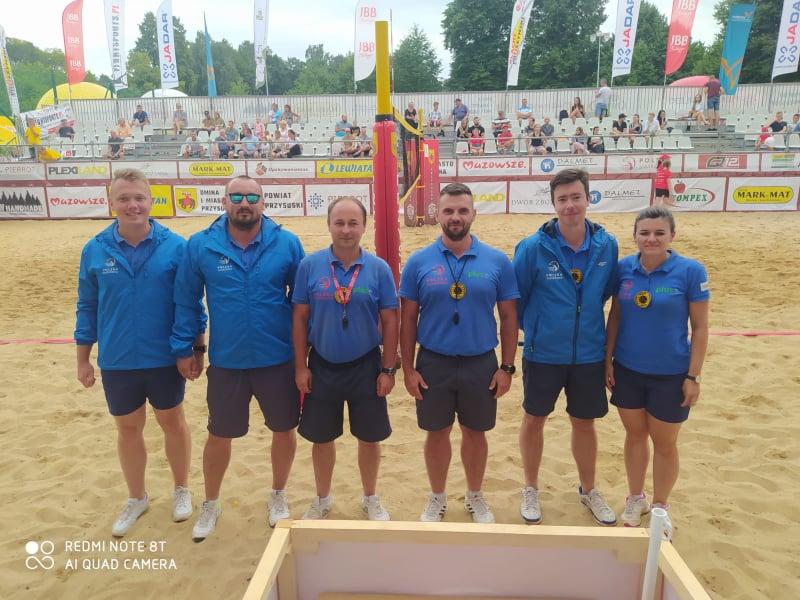 Częstochowscy sędziowie siatkówki plażowej promują Częstochowę w całej Polsce 6