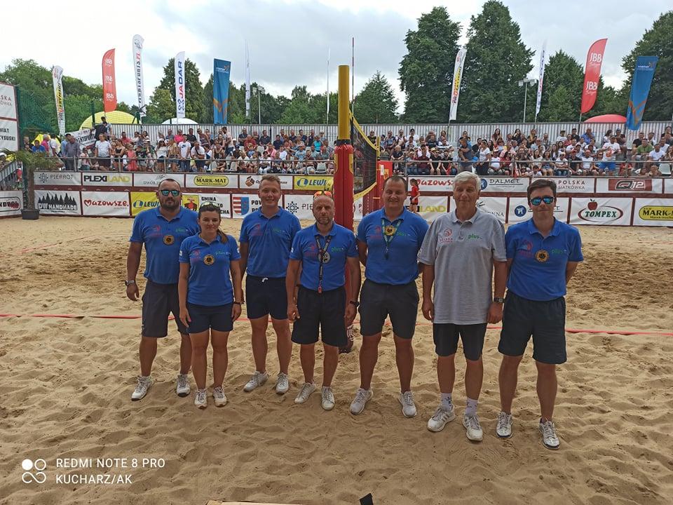 Częstochowscy sędziowie siatkówki plażowej promują Częstochowę w całej Polsce 8
