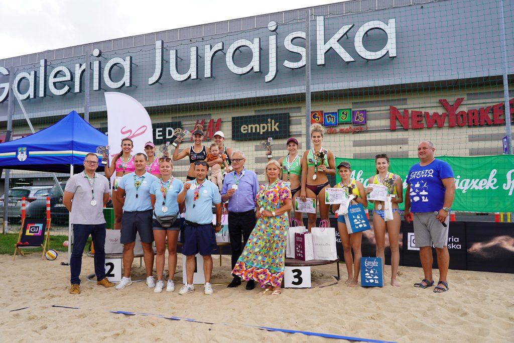W Częstochowie odbył się Puchar Śląska kobiet w siatkówce plażowej 1