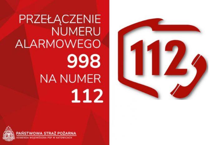 112 przejmie numer alarmowy 998 2