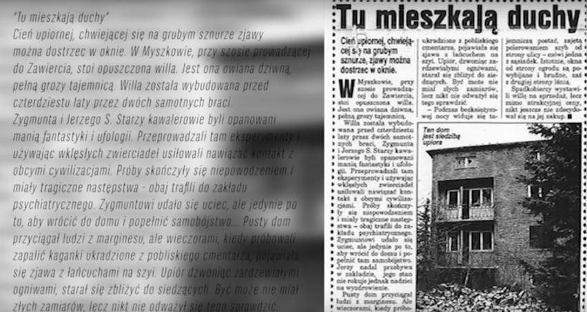 Nawiedzony dom w województwie śląskim w miejscowości Myszków 2