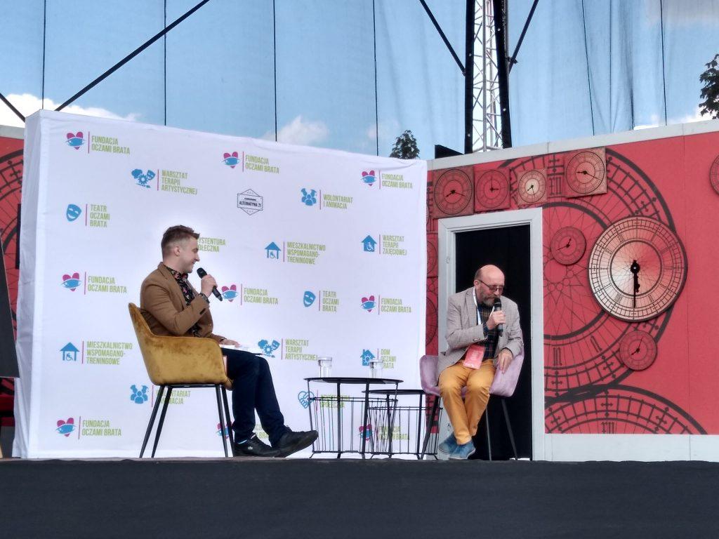 Artur Barciś odwiedził Festiwal Kultury Alternatywnej eFKA 1