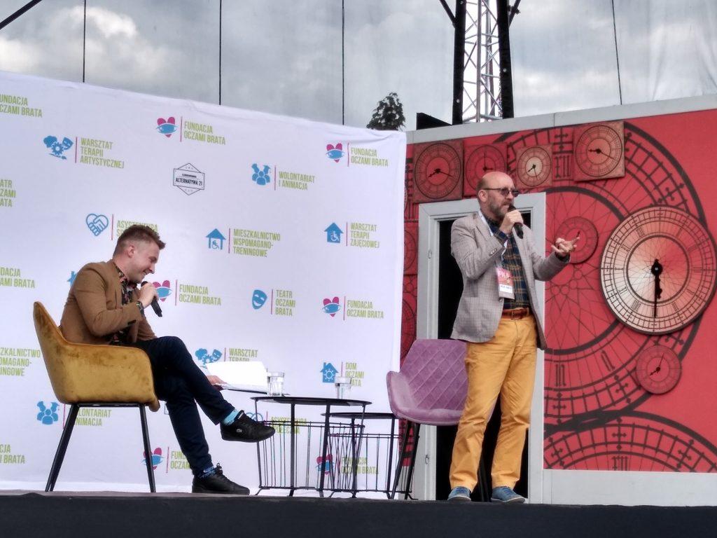 Artur Barciś odwiedził Festiwal Kultury Alternatywnej eFKA 9