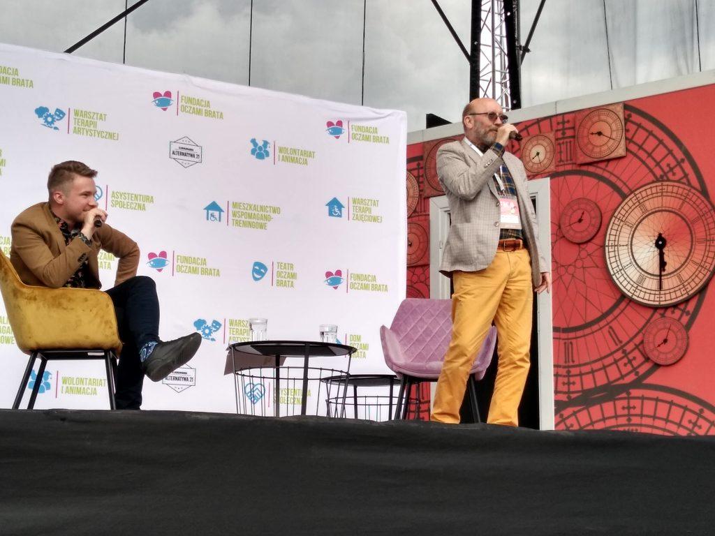 Artur Barciś odwiedził Festiwal Kultury Alternatywnej eFKA 10
