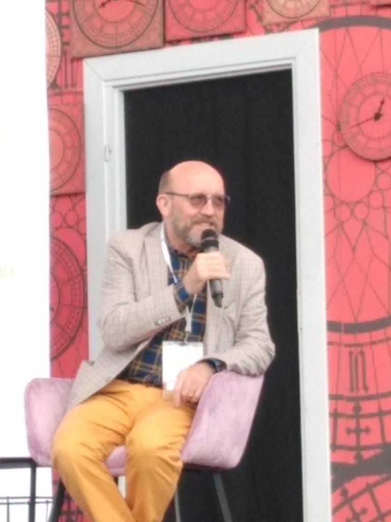 Artur Barciś odwiedził Festiwal Kultury Alternatywnej eFKA 3