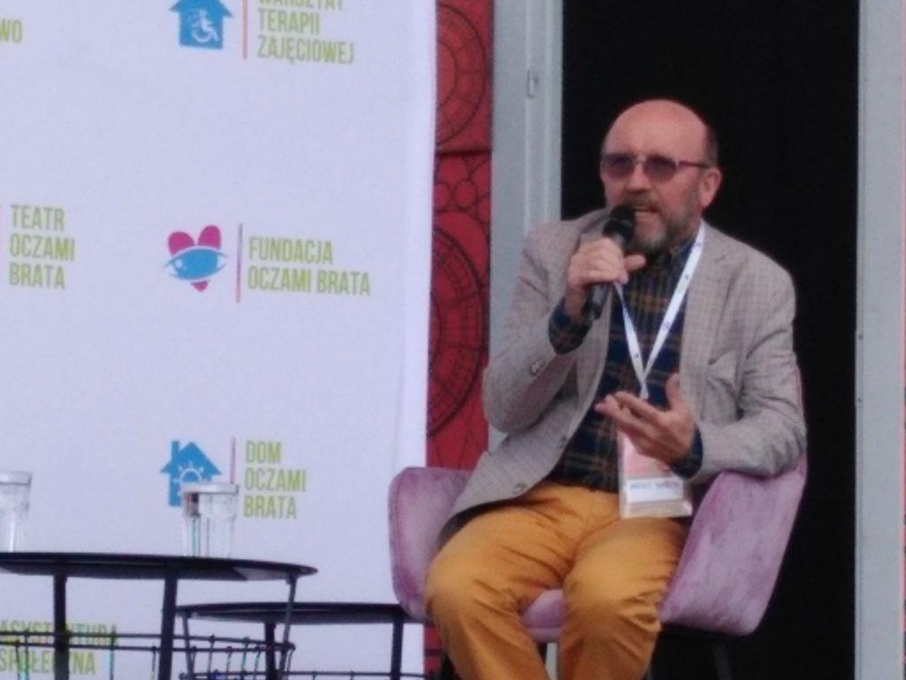 Artur Barciś odwiedził Festiwal Kultury Alternatywnej eFKA 4