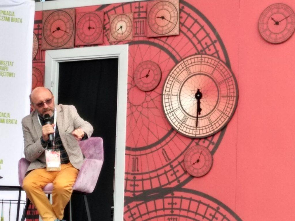 Artur Barciś odwiedził Festiwal Kultury Alternatywnej eFKA 5