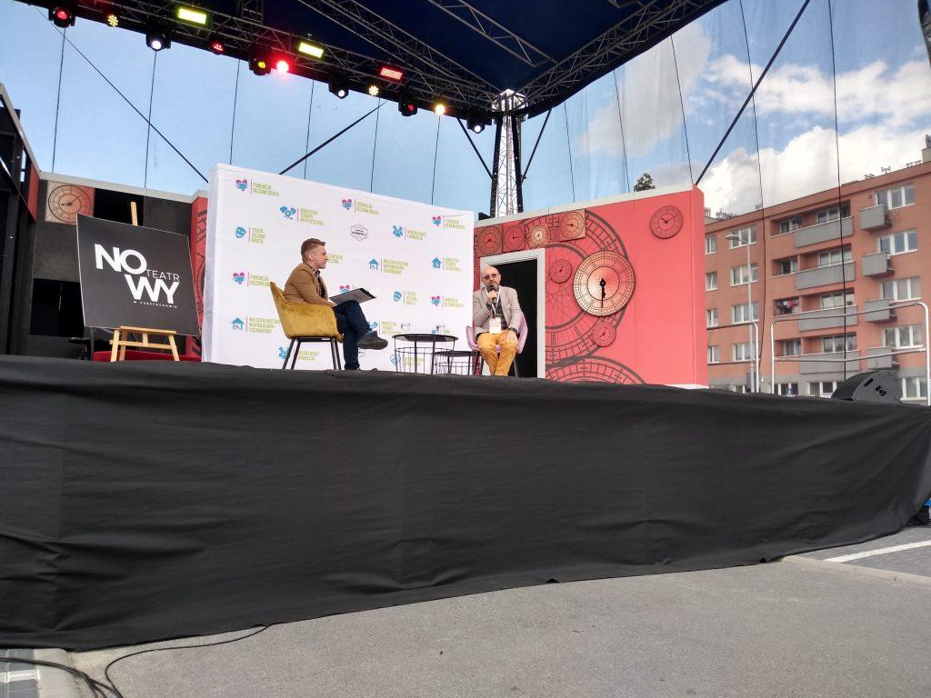 Artur Barciś odwiedził Festiwal Kultury Alternatywnej eFKA 6