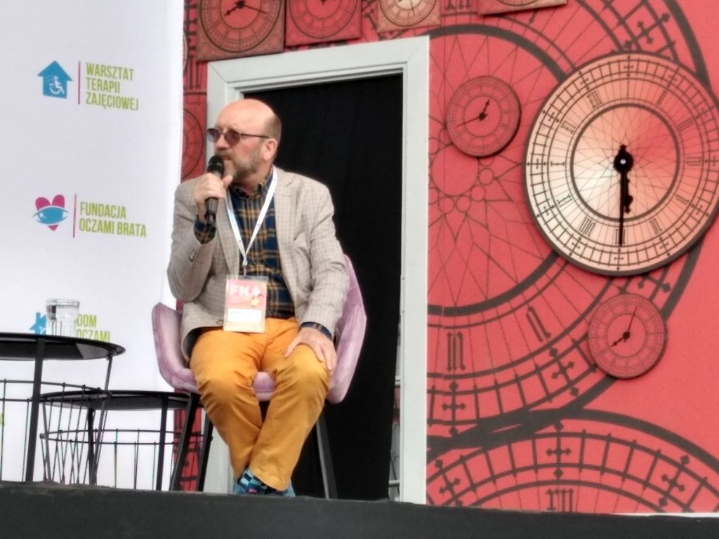 Artur Barciś odwiedził Festiwal Kultury Alternatywnej eFKA 7