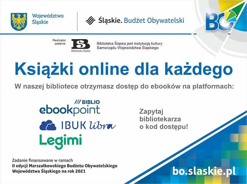 W gminie Kłomnice biblioteka umożliwia czytelnikom dostęp do e-booków 1