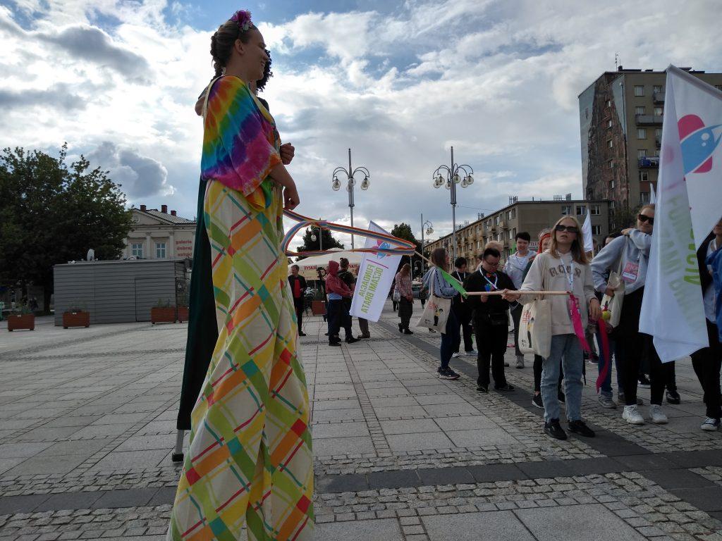 Korowód na otwarcie Festiwalu Kultury Alternatywnej eFKA 10