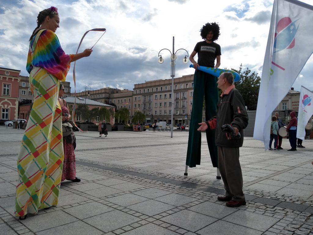 Korowód na otwarcie Festiwalu Kultury Alternatywnej eFKA 11