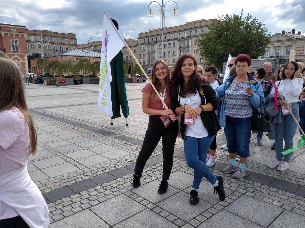 Korowód na otwarcie Festiwalu Kultury Alternatywnej eFKA 12