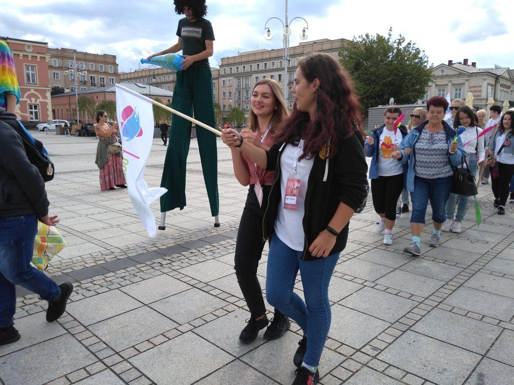 Korowód na otwarcie Festiwalu Kultury Alternatywnej eFKA 15