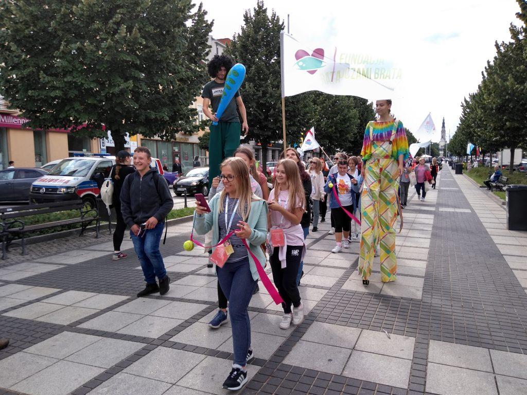 Korowód na otwarcie Festiwalu Kultury Alternatywnej eFKA 22
