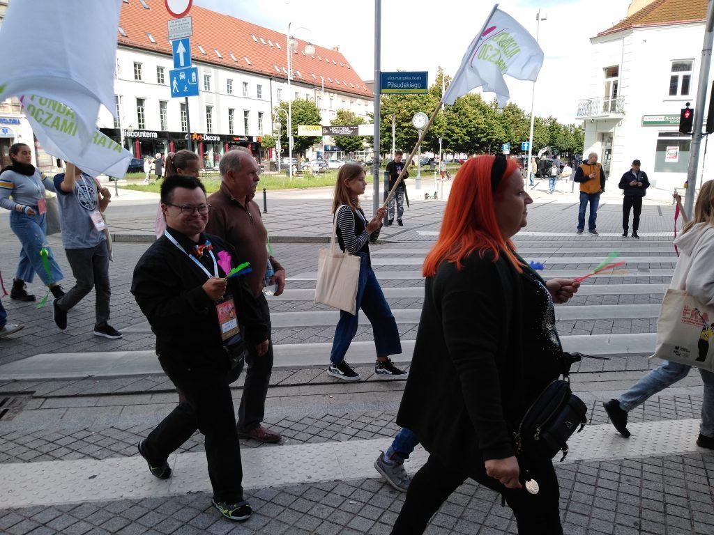 Korowód na otwarcie Festiwalu Kultury Alternatywnej eFKA 26