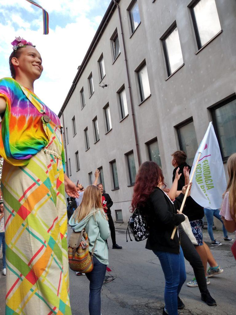 Korowód na otwarcie Festiwalu Kultury Alternatywnej eFKA 31