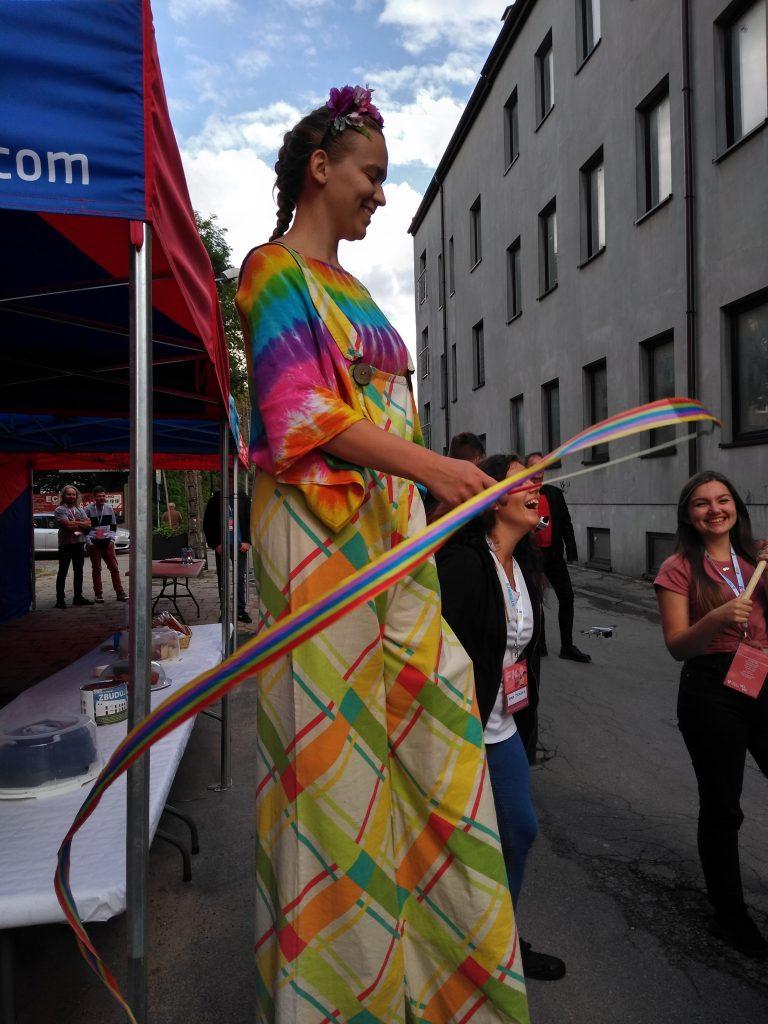 Korowód na otwarcie Festiwalu Kultury Alternatywnej eFKA 32