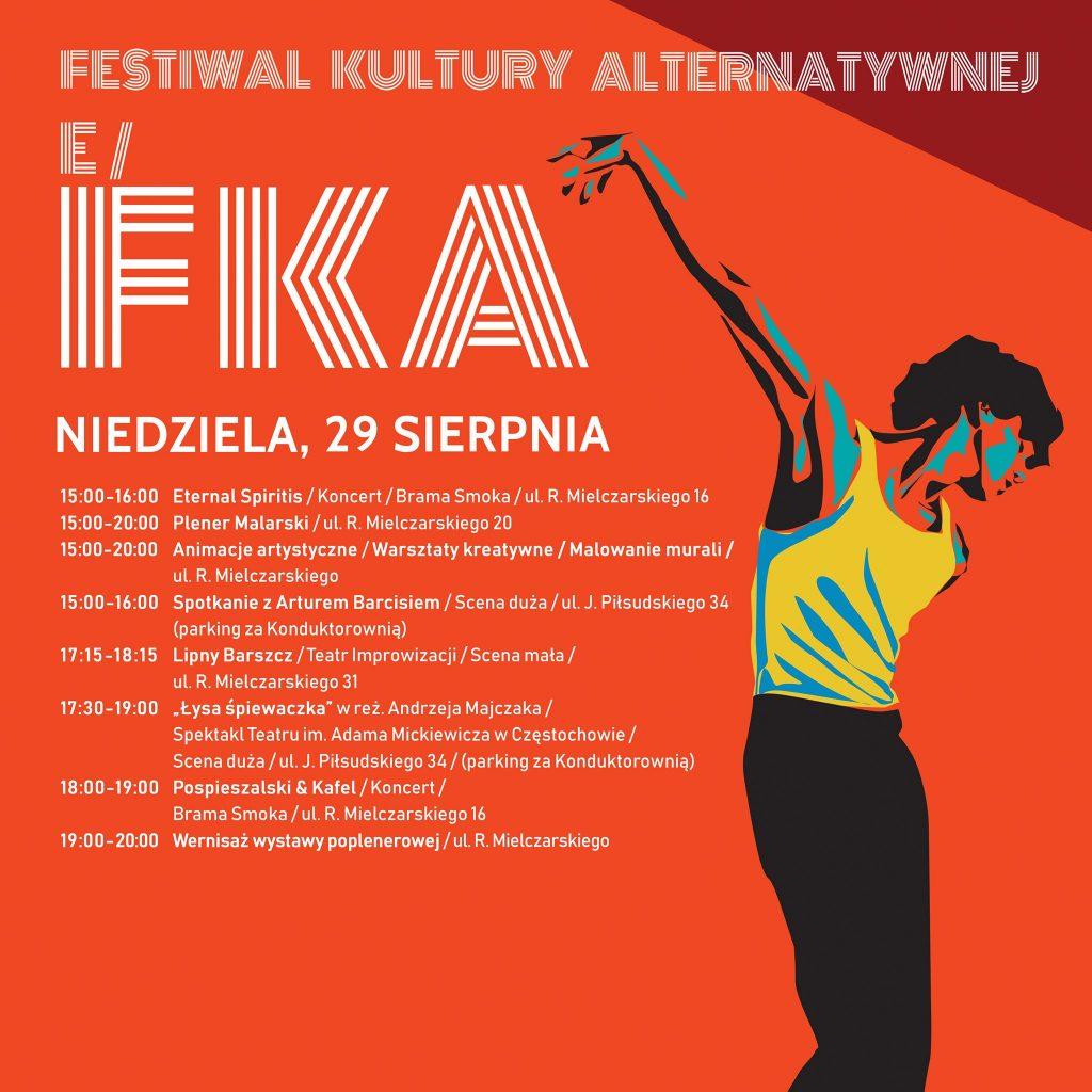 Trwa Festiwal Kultury Alternatywnej eFKA 7