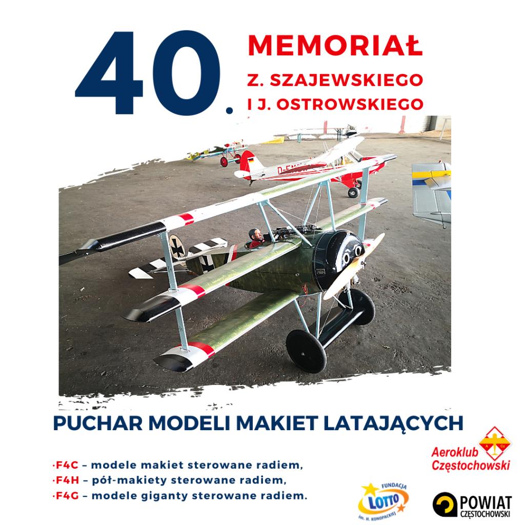 40 Memoriał Zdzisława Szajewskiego i Jerzego Ostrowskiego – Puchar Modeli Makiet Latających 2021 1