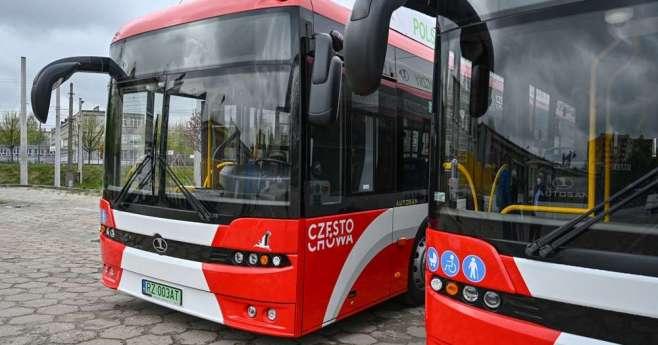 Zmiany na niektórych liniach autobusowych częstochowskiego MPK 2