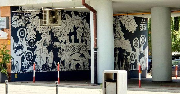 Widzieliście już nowy częstochowski mural? Znajdziecie go przy ul. Tuwima 2