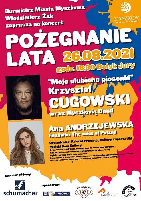 """""""Pożegnanie lata"""" w Myszkowie. Gwiazdą będzie Krzysztof Cugowski 2"""
