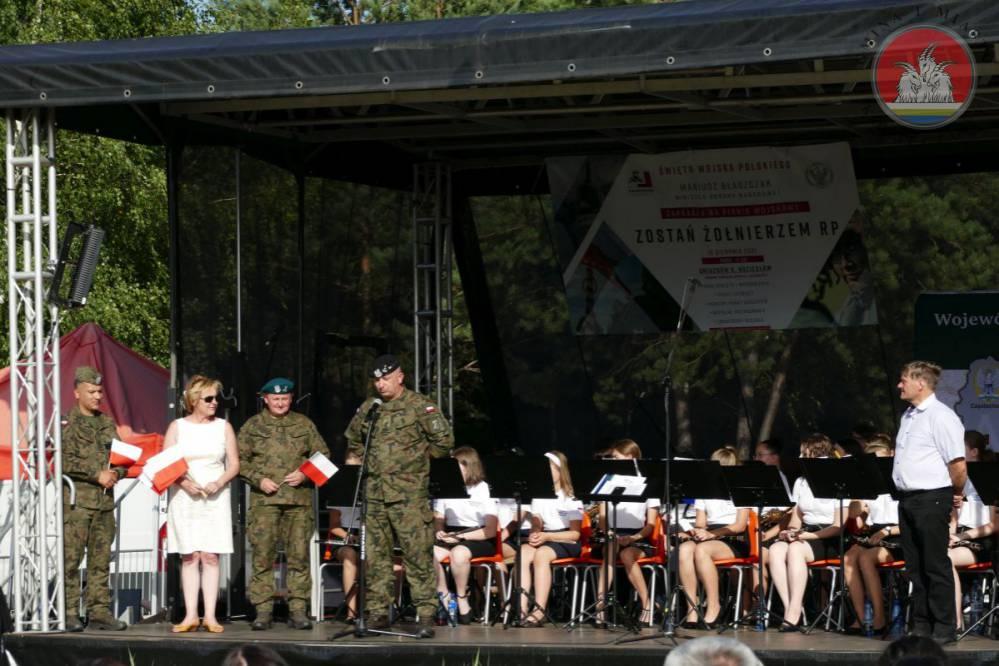 """Piknik wojskowy """"Zostań żołnierzem RP"""" w Gniazdowie 16"""