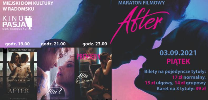Kino Pasja i Miejski Dom Kultury w Radomsku zapraszają na maraton filmowy 1