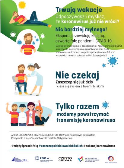 Zakład Gospodarki Mieszkaniowej namawia do szczepień – wraz z miejskimi partnerami 2