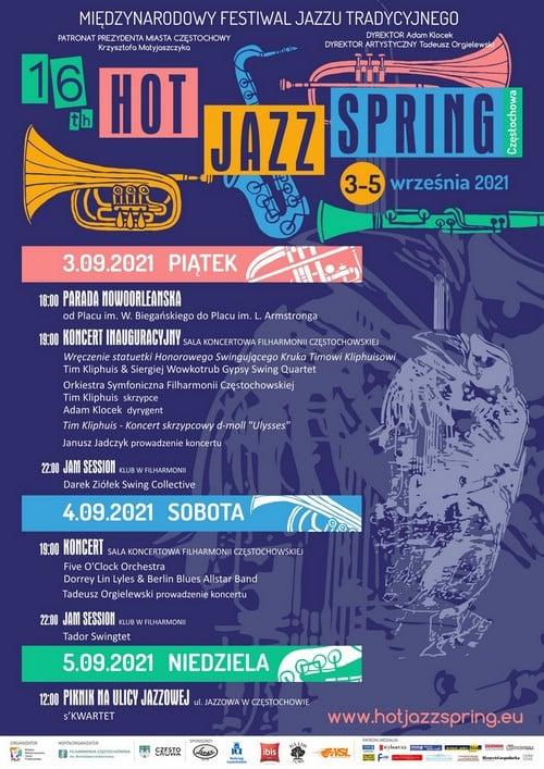 """Międzynarodowy Festiwal Jazzu Tradycyjnego """"Hot Jazz Spring"""" wystartuje w Częstochowie 3 września 1"""