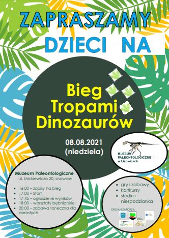 Bieg Tropami Dinozaurów w Lisowicach 1