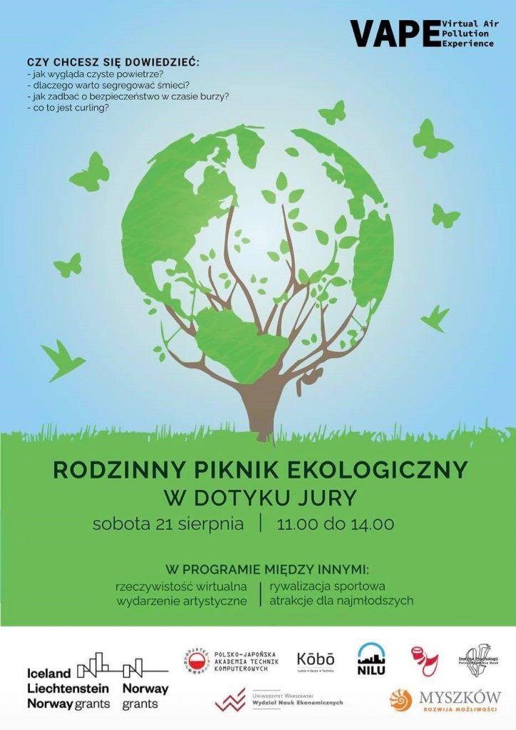 Rodzinny piknik ekologiczny w Dotyku Jury w Myszkowie 1