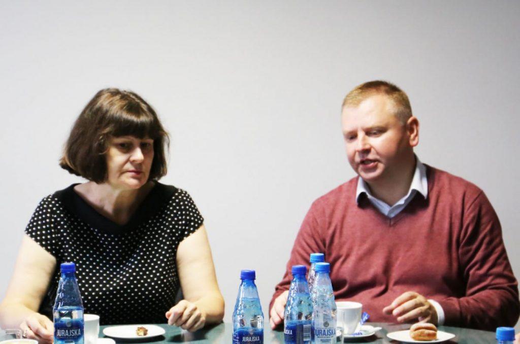 Delegacja zaprzyjaźnionej gminy Jaszuny z Litwy z wizytą w Urzędzie Gminy Poczesna 1