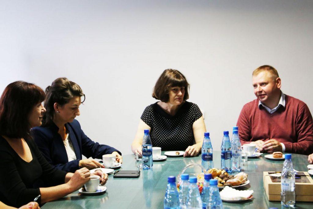 Delegacja zaprzyjaźnionej gminy Jaszuny z Litwy z wizytą w Urzędzie Gminy Poczesna 2