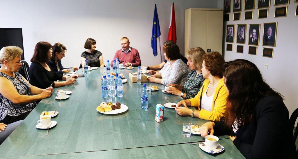 Delegacja zaprzyjaźnionej gminy Jaszuny z Litwy z wizytą w Urzędzie Gminy Poczesna 3