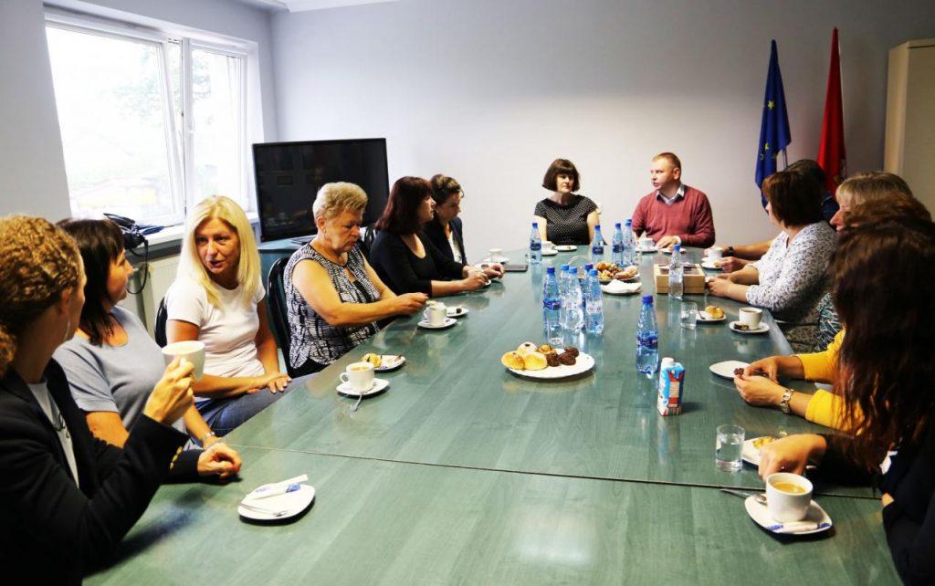 Delegacja zaprzyjaźnionej gminy Jaszuny z Litwy z wizytą w Urzędzie Gminy Poczesna 4
