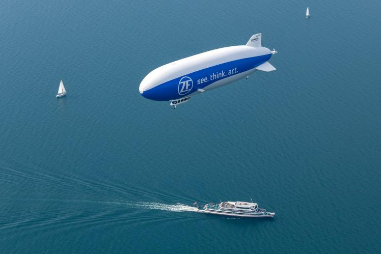 Spójrz w niebo. Nad Częstochową przeleci Zeppelin firmy ZF 1