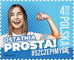 Poczta Polska wydała znaczek promujący szczepienia przeciwko COVID-19 3