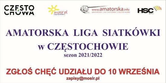 Zapisz się do Amatorskiej Ligi Siatkówki w Częstochowie! 2