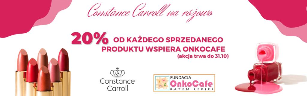 """Częstochowska firma inicjuje akcję """"Constance Carroll na różowo"""". Celem jest pomoc Fundacji OnkoCafe 2"""