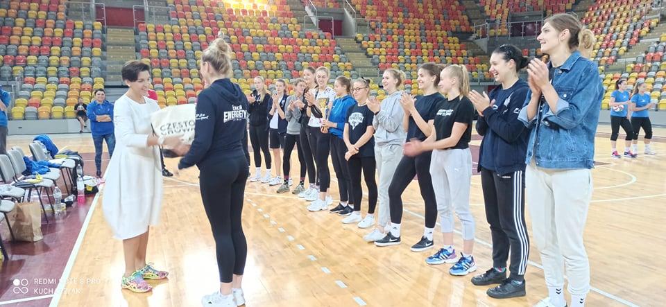 Siatkarki KS Częstochowianki zorganizowały międzynarodowy turniej. Wygrały Czeszki z Ostrawy 3
