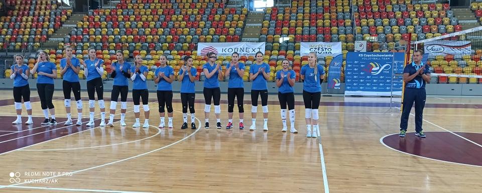 Siatkarki KS Częstochowianki zorganizowały międzynarodowy turniej. Wygrały Czeszki z Ostrawy 4