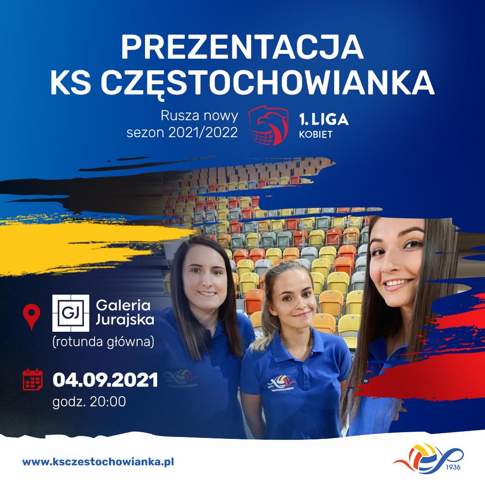 Siatkarki Częstochowianki zapraszają na piątkową prezentację i na weekendowy międzynarodowy turniej o puchar prezydenta miasta 2