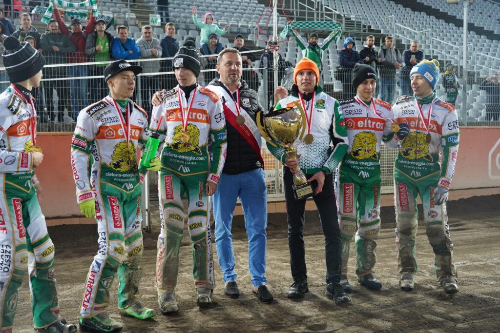 Juniorzy Bocar Włókniarz Częstochowa zdobyli złoto DMPJ 14