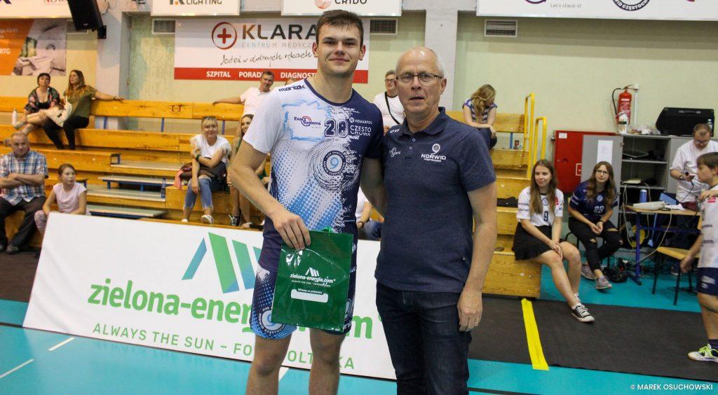Siatkarze Exact Systems Norwid Częstochowa wygrali Puchar zielona-energia.com!!! 6