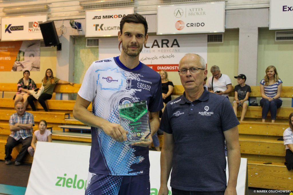 Siatkarze Exact Systems Norwid Częstochowa wygrali Puchar zielona-energia.com!!! 5