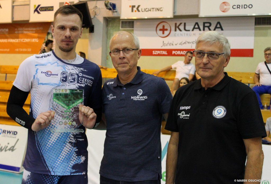 Siatkarze Exact Systems Norwid Częstochowa wygrali Puchar zielona-energia.com!!! 2