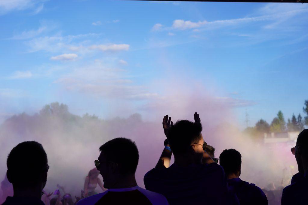 Trener Piotr Gruszka przedstawił swoich siatkarzy z Exact Systems Norwid podczas Festiwalu Kolorów. Prezentacja drużyny wypadła...kolorowo 9